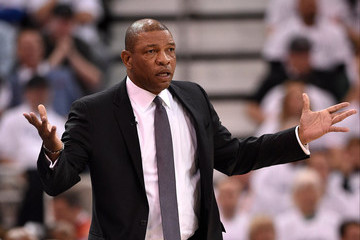 Doc Rivers Los Angeles Clippers v Utah Jazz - Game Three