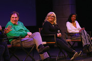 """Richard Kind, Paula Pell and Renee Elise Goldsberry speaks on stage at the """"Documentary Now"""" Red Carpet, Screening And After Party during the 2019 Sundance Film Festival at The Egyptian Theatre on January 27, 2019 in Park City, Utah."""