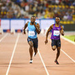 Michael Rodgers and Justin Gatlin