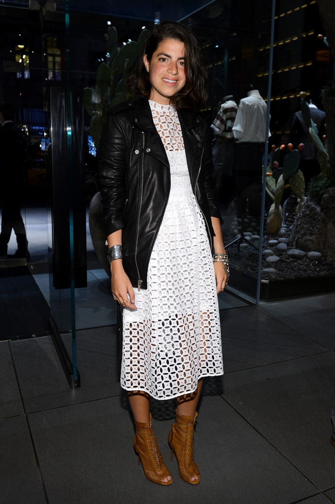 Fashion blogger Leandra Medine attends Dolce&Gabbana, along with Giovanna Battaglia, celebrate the opening of the 5th Avenue Flagship Boutique on May 4, 2013 in New York City.