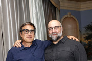 David O. Russell and Craig Brewer attend the 'Dolemite Is My Name' John Davis Hosted Tastemaker at a Private Residence on November 19, 2019 in Beverly Hills, California.