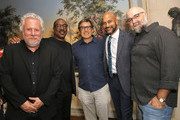Larry Karaszewski, Eddie Murphy, David O. Russell, Keegan-Michael Key and Craig Brewer attend the 'Dolemite Is My Name' John Davis Hosted Tastemaker at a Private Residence on November 19, 2019 in Beverly Hills, California.