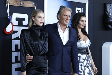 Dolph Lundgren Jenny Sandersson 'Creed II' New York Premiere