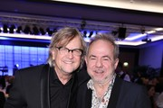 Martin Krug and Helmut Zerlett attend the charity event Dolphin's Night at InterContinental Hotel on November 25, 2017 in Duesseldorf, Germany.