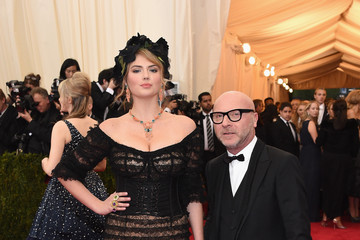 Domenico Dolce Red Carpet Arrivals at the Met Gala — Part 3