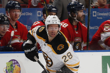 Dominic Moore Boston Bruins v Florida Panthers