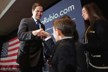 Dominick Rubio Presidential Candidate Sen. Marco Rubio (R-FL) Holds NH Primary Night Party