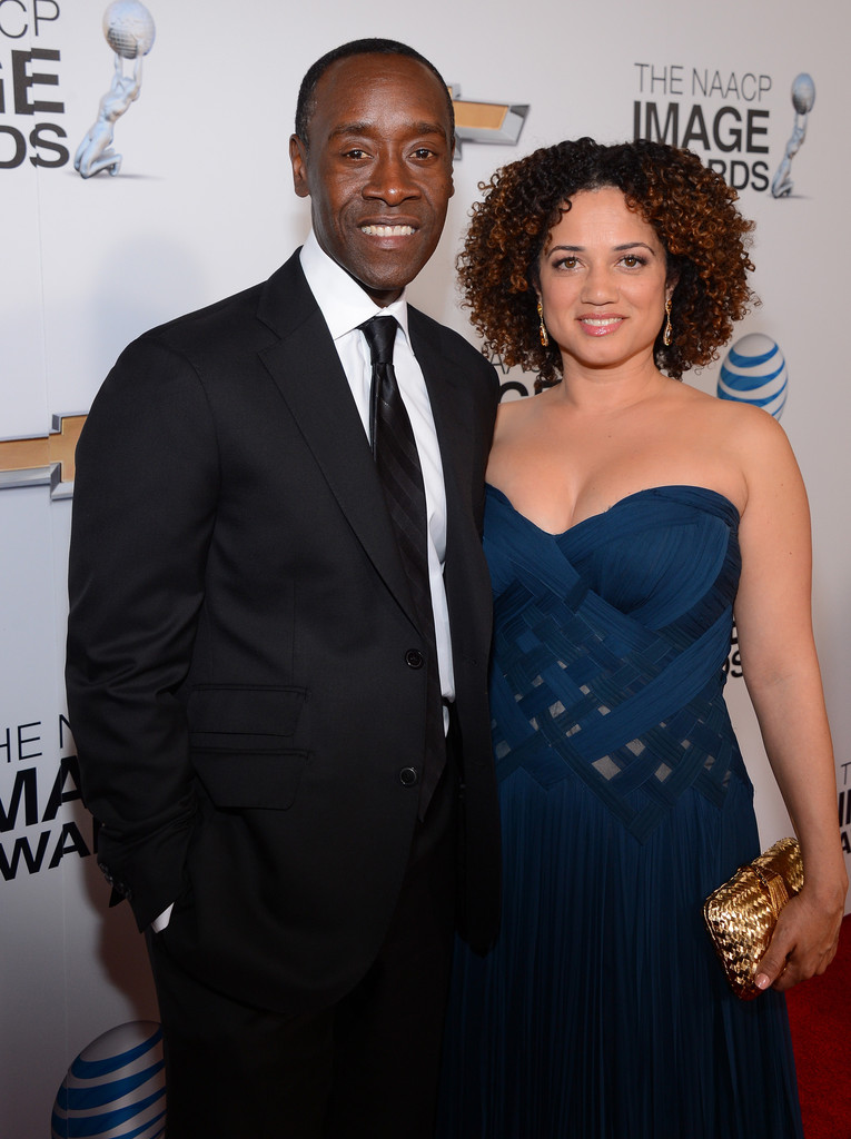 Don Cheadle couple