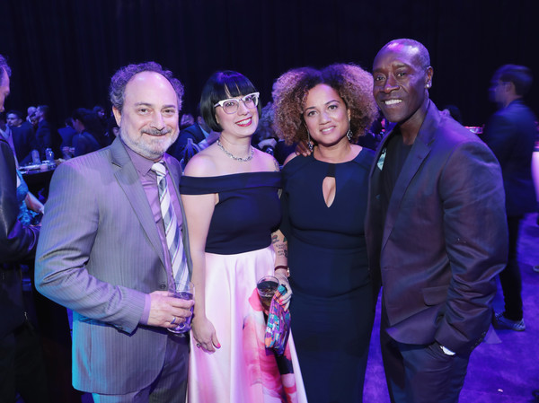 Don Cheadle And Bridgid Coulter Photos Photos Los Angeles World