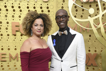 Don Cheadle Bridgid Coulter 71st Emmy Awards - Arrivals