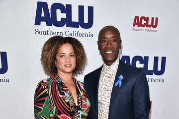 Don Cheadle Bridgid Coulter ACLU SoCal's Annual Bill Of Rights Dinner - Arrivals