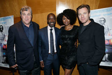 Don Cheadle Emayatzy Corinealdi  Premiere of Sony Pictures Classics' 'Miles Ahead' - After Party
