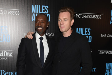 Don Cheadle Ewan McGregor The Cinema Society with Ketel One and Robb Report Host a Screening of Sony Pictures Classics' 'Miles Ahead' - Arrivals