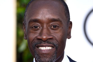 Don Cheadle Arrivals at the Golden Globe Awards — Part 2