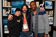 """Jeremy Luke, Ram Bergman and Rob Brown attend the """"Don Jon's Addiction"""" premiere party hosted by DirecTV and Sundance Channel on January 18, 2013 in Park City, Utah."""