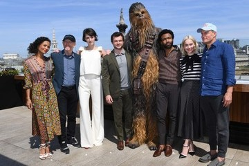 Donald Glover Thandiwe Newton 'Solo: A Star Wars Story' - Photocall