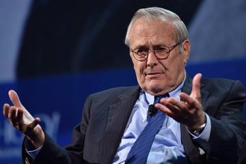 Donald Rumsfeld 2016 Concordia Summit Convenes World Leaders to Discuss the Power of Partnerships - Day 2