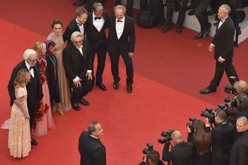 Donald Sutherland Arnaud Desplechin 'Cafe Society' & Opening Gala - Red Carpet Arrivals - The 69th Annual Cannes Film Festival