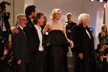 Donald Sutherland Claes Bang 'The Burnt Orange Heresy' Red Carpet Arrivals - The 76th Venice Film Festival