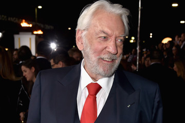 Donald Sutherland 'The Hunger Games: Mockingjay, Part 1' LA Premiere — Part 3