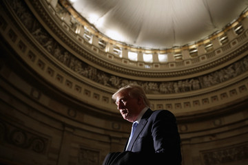 Donald Trump Congressional Gold Medal Presented To Golfer Jack Nicklaus On Capitol Hill