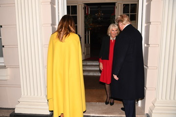 Donald Trump - US President The Prince Of Wales Hosts US President Donald Trump For Tea