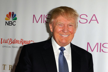 Donald Trump 2014 Miss USA Competition - Red Carpet
