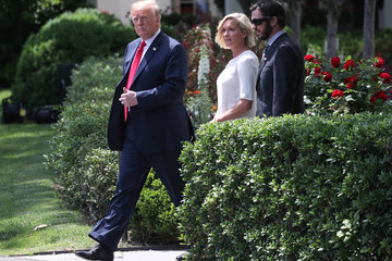 Donald Trump President Trump Hosts NASCAR Cup Series Champion Martin Truex Jr. At The White House