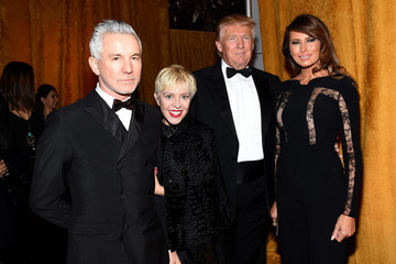 Donald Trump Arrivals at the New York Ball Cocktail Benefit