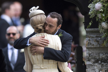 Donna Air Wedding of Pippa Middleton and James Matthews