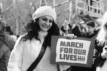 Donna D'Cruz March For Our Lives New York City