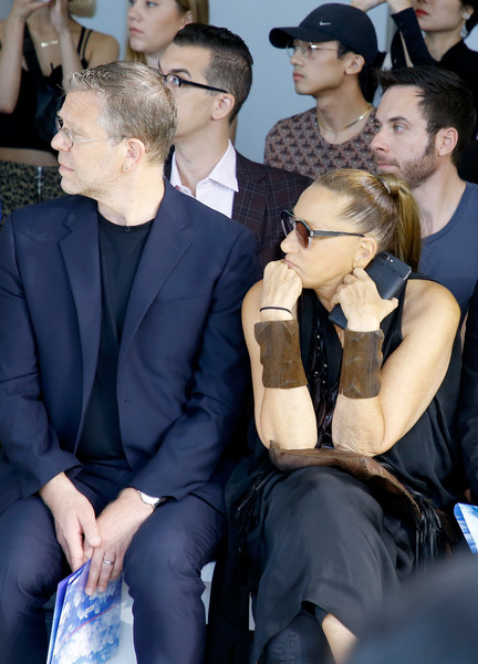 Donna Karan Donna Karan Photos Parsons Mfa Fashion Design Society Front Row September 2018 New York Fashion Week The Shows Zimbio