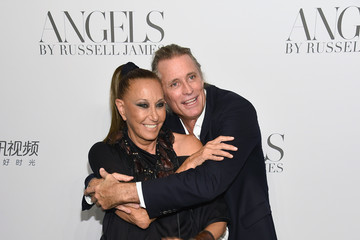 Donna Karan Russell James Cindy Crawford And Candice Swanepoel Host 'ANGELS' By Russell James Book Launch And Exhibit - Arrivals