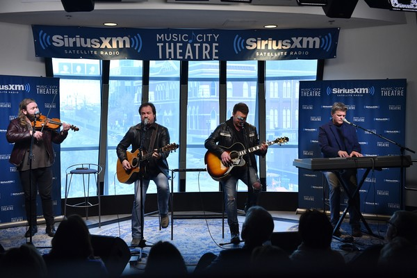The Frontmen Perform Live On SiriusXM's Prime Country Channel At SiriusXM's Music City Theatre In Nashville