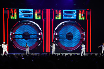 Donnie Wahlberg Danny Wood New Kids On The Block In Concert - Las Vegas, NV