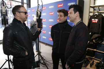 Donnie Wahlberg Joey McIntyre New Kids On The Block Visit 'Extra'