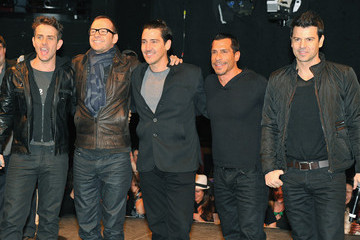 Donnie Wahlberg Joey McIntyre New Kids On The Block Special Event Announcement