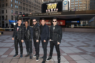 Donnie Wahlberg Jordan Knight New Kids on the Block Press Conference