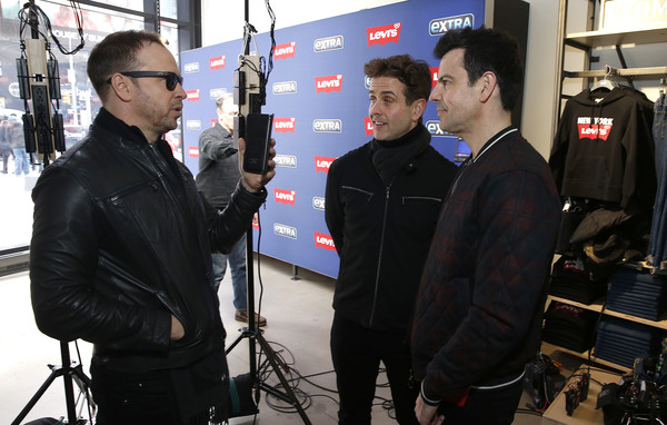 New Kids On The Block Visit 'Extra'