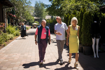 Doreen Xia Annual Allen And Co. Meeting In Sun Valley Draws CEO's And Business Leaders To The Mountain Resort Town