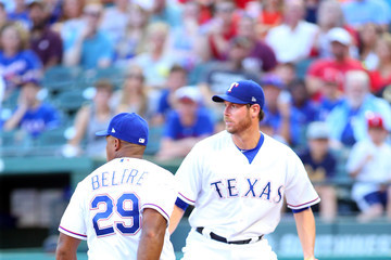 Doug Fister Houston Astros vs. Texas Rangers