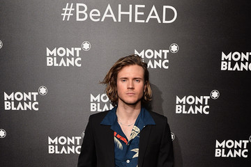 Dougie Poynter Montblanc Summit Launch Event at the Ledenhall Building - Photocall