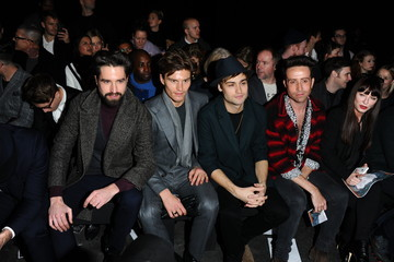 Douglas Booth Front Row at Topman