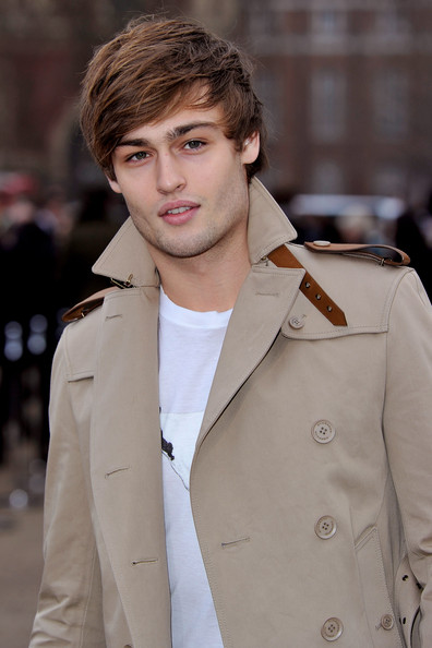 Douglas Booth Model Douglas Booth attends the Burberry Prorsum Show at    Douglas Booth
