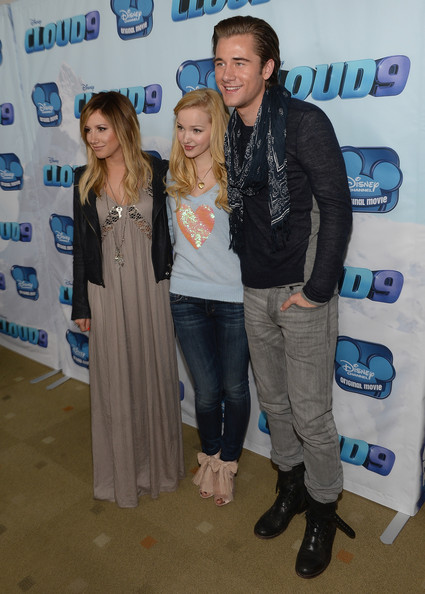 Luke Benward And Dove Cameron Dove cameron (l-r) producer