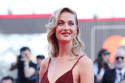 Eva Riccobono walks the red carpet ahead of the 'Downsizing' screening and Opening Ceremony during the 74th Venice Film Festival at Sala Grande on August 30, 2017 in Venice, Italy.