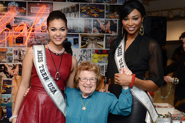 Dr. Ruth DKNY & Same Sky Host An Ethical Shopping Event To Celebrate International Women's Day