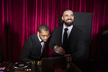 Drake Netflix Hosts the Golden Globes After Party at the Waldorf Astoria