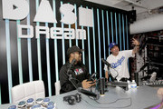 Ice Cube and and Tattoo talk the BIG3, the 3-on-3 basketball league comprised of former NBA players founded by Ice Cube during the Dream Hollywood x Dash radio launch Music Pop-Up on June 14, 2018 in Los Angeles, California.