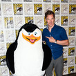 Benedict Cumberbatch Hangs Out with a Penguin
